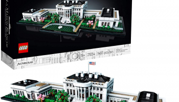 LEGO Architecture Collection: The White House 21054 Model Building Kit