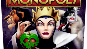 Monopoly: Disney Villains Edition Board Game