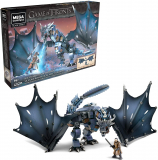 Mega Construx Game of Thrones Ice Viserion Showdown Building Set