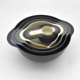 8 Piece Plastic Mixing Bowl Set