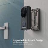 GazingSure Video Doorbell Camera – Alexa WiFi Wireless 1080P FHD Home Security Camera Outdoor