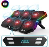 IPOW RGB Laptop Cooling Pad Gaming Laptop Cooler