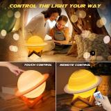 LED Globe Nursery Light