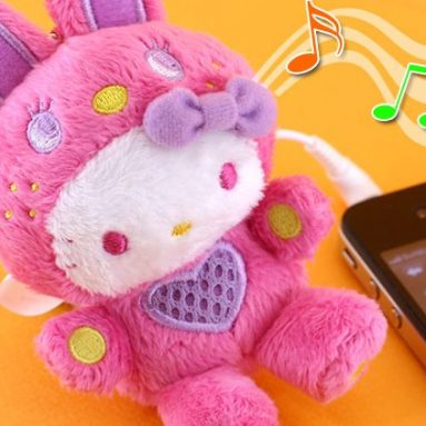 Characters Speaker Plush Doll Cell Phone Charm