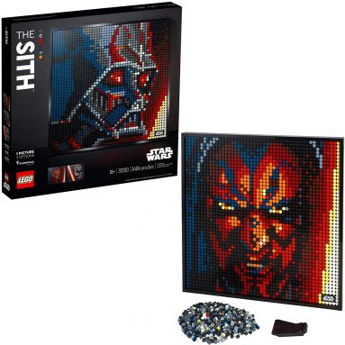 LEGO Art Star Wars The Sith 31200 Creative Sith Lord Building Kit