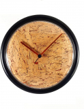 Cork and Copper Wall Clock