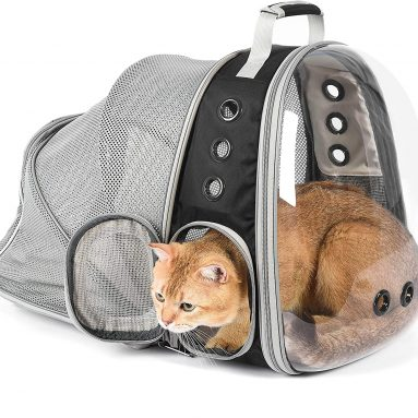 Jerrycat Expandable Cat Backpack
