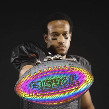 REBOIL Customized Personalized Holographic Football
