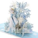 Signature Paper Wonder Frozen Pop Up Christmas Card