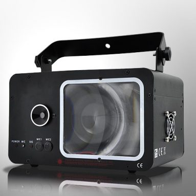 Laser Effects Projector with LED Lighting