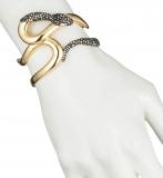 Alexis Bittar Snake Cuff Bracelet