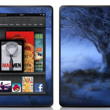 Kindle Fire Skin – World's Edge Winter