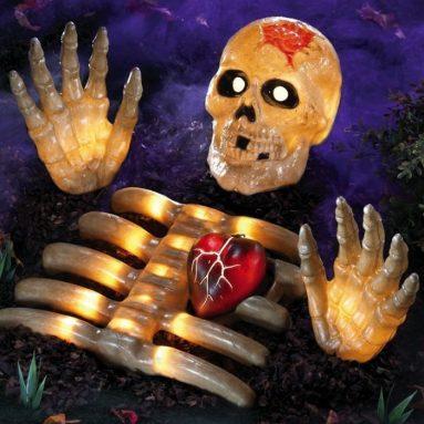 Halloween Graveyard Lighted Skeleton Groundbreaker