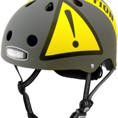 Nutcase Urban Caution Matte Bike Helmet