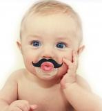 Kissable Mustache Pacifier