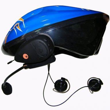 Bluetootn bike helmet headset intercom system / FM Radio Receiver