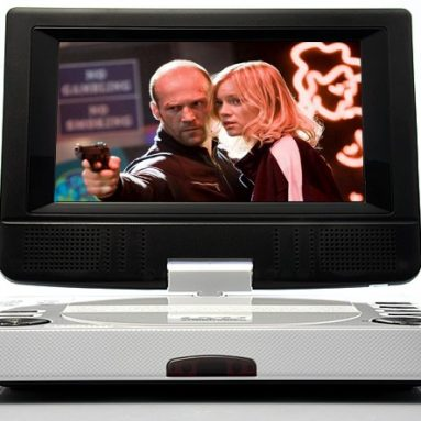 7 Inch Portable Multimedia DVD Player