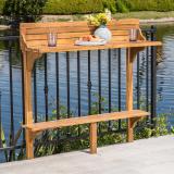 Caribbean Balcony Bar Table