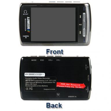 Mini Spy Camera + 2GB Viewscreen DVR