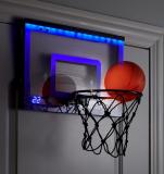 The LED Scoring Indoor Basketball Hoop