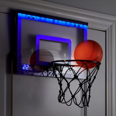 The LED Scoring Indoor Basketball Hoop
