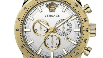 Versace Sporty Montre Hommes Chronographe