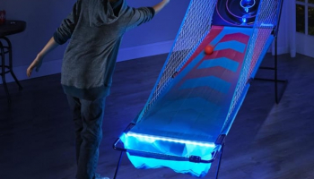 The Foldaway Illuminated Bowling Arcade Game