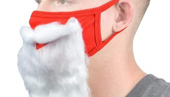Santa Beard Face_Mask