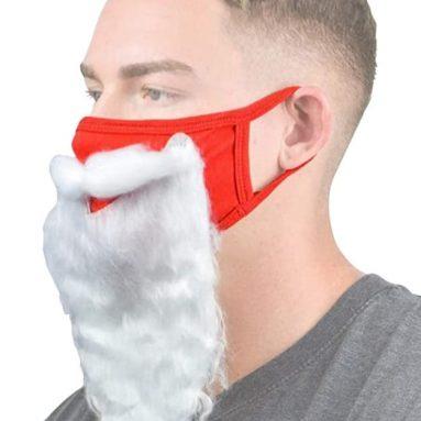 Santa Beard Face_Mask
