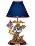 The U.S. Marines Tabletop Lamp