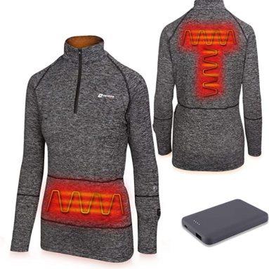 Venture Heat Women's Heated Shirt Thermal Underwear