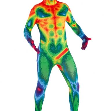Morphsuits Infrared Camera Multicoloured Halloween Costume