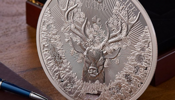 The Ten Point Buck Pure Silver Kilo Coin