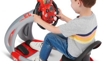 The Children's Race Car Simulator