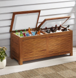 The Two Cooler Patio Bench