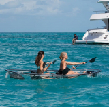 The Two Person Transparent Canoe Kayak