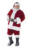 Fun World Men's Ultra Velvet Santa Suit Costume