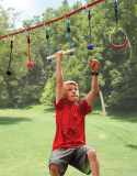 The Junior Ninja's 50′ Obstacle Course