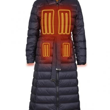 The Lady's Heated Down Jacket