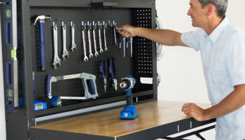 The Wall Mounted Folding Workbench