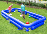 The Soccer Player's Backyard Billiards Game