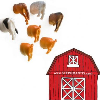 Farm Butt Magnets