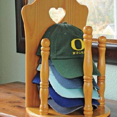 Wooden Cap Organizer