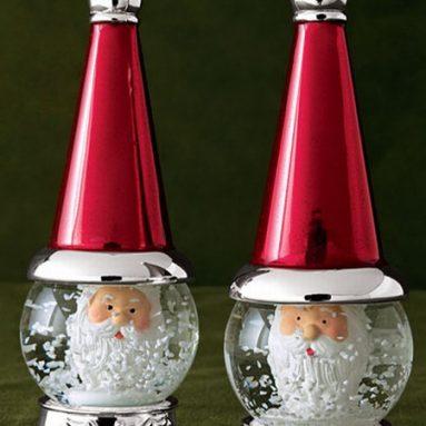 Santa Salt & Pepper Shakers