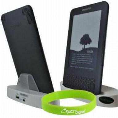 Crazyondigital Brand New Stylish Sync and Charging Dock Cradle for Amazon Kindle 3