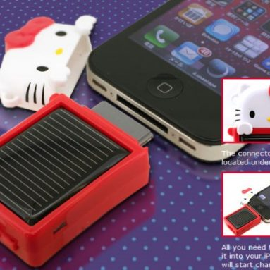 Hello Kitty Solar Charge eco for iPhone4/3G