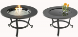 Outdoor Saturn Gas Fire Pit Table