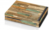 Controller Gear Reclaimed Wood Console Skin
