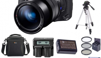 Sony Cyber-Shot DSC-RX10 IV bundle