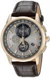 Eco-Drive World Chrono Atomic Timekeeping Watch